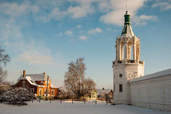 Tour Anello d'oro, Rostov la Grande d'inverno