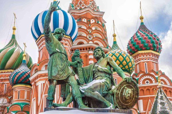 Viaggio a Mosca, Piazza Rossa, dettaglio della Chiesa di San Basilio