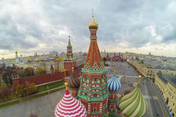 Tour a Mosca, Cupole Cattedrale di San Basilio, Piazza Rossa