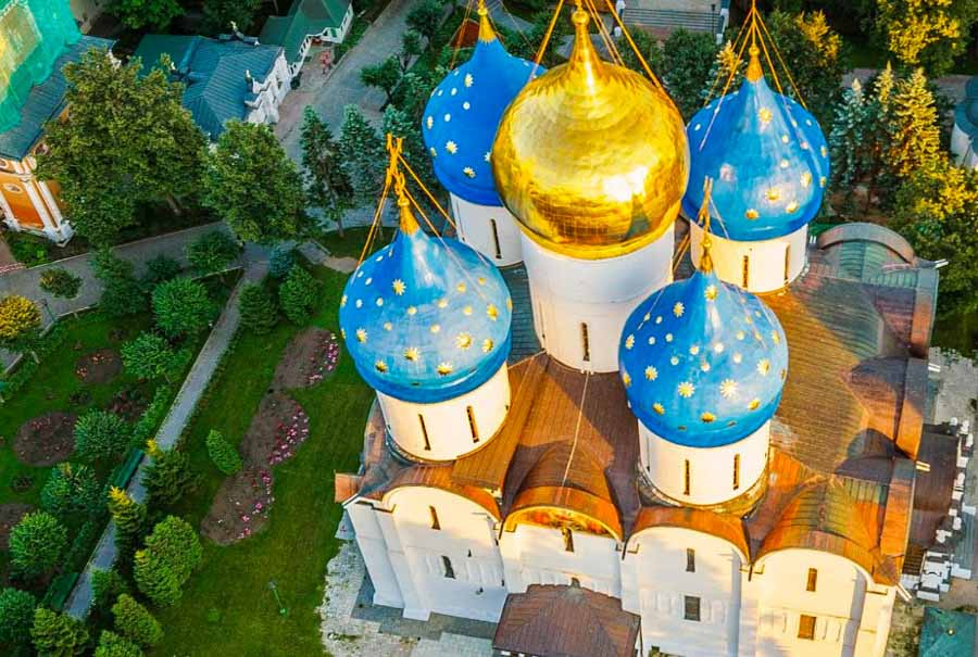 Il Vaticano russo a Sergiev Posad