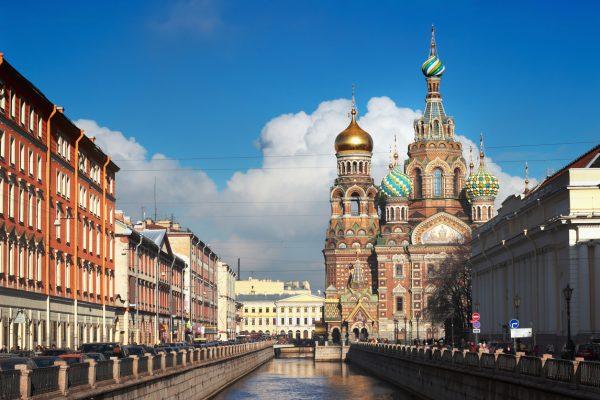 Tour in Russia, Chiesa sul Sangue Versato a San Pietroburgo