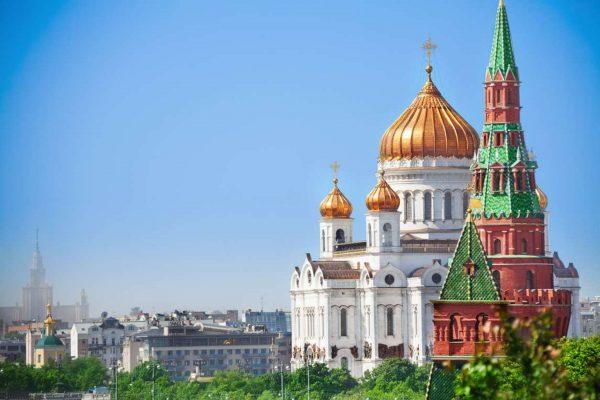 Tour a Mosca, vista sul Cremlino