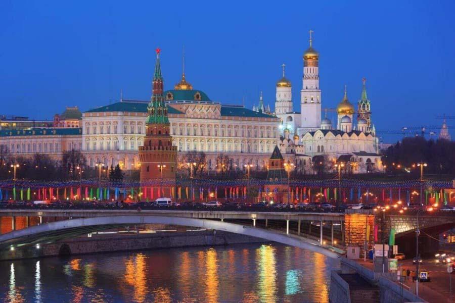Il fascino notturno di Mosca
