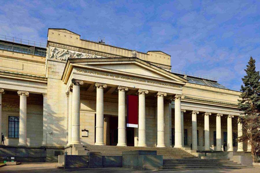 Il museo delle Belle Arti Pushkin