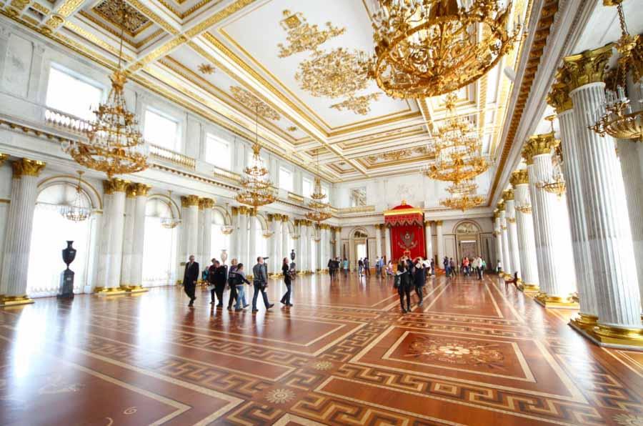 Le meraviglie dell'Ermitage