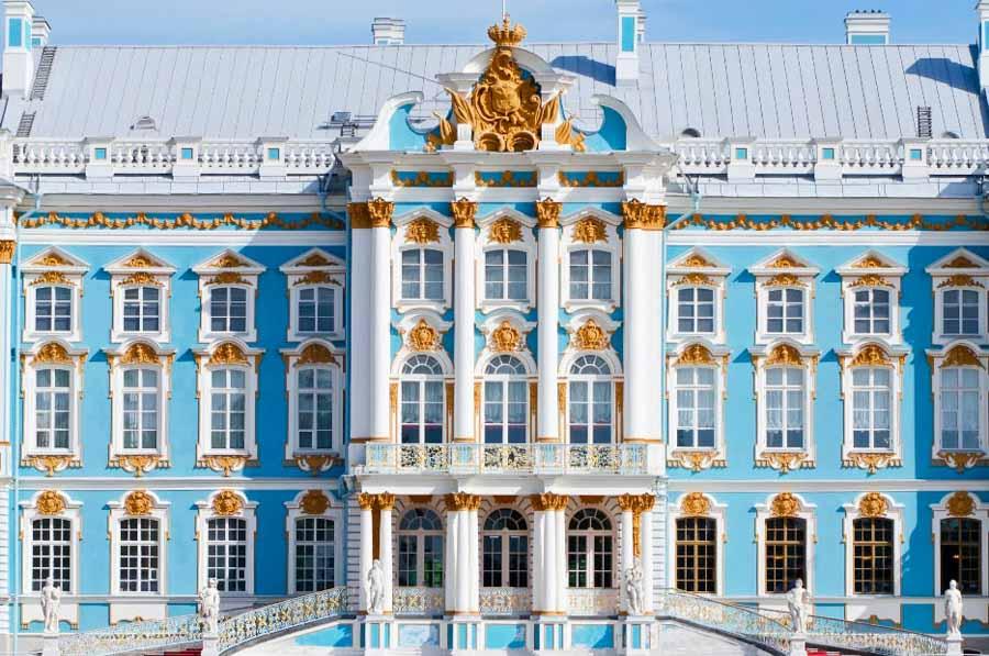 Palazzo di Caterina, Regge di Pushkin e Peterhof