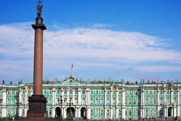 Tour San Pietroburgo, Piazza del Palazzo dove si trova Ermitage