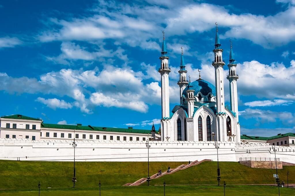 La Moschea di Qol-Şärif di Kazan, una delle più grandi d'Europa