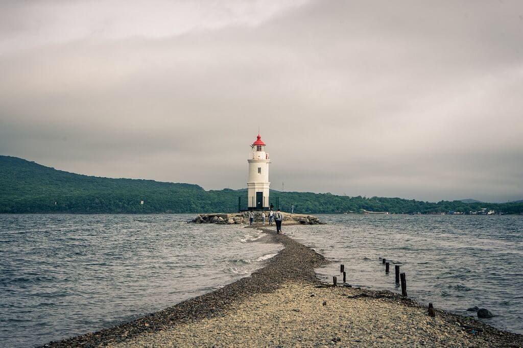 Vladivostok, il faro Egersheld