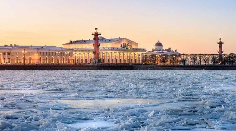 San Pietroburgo in inverno