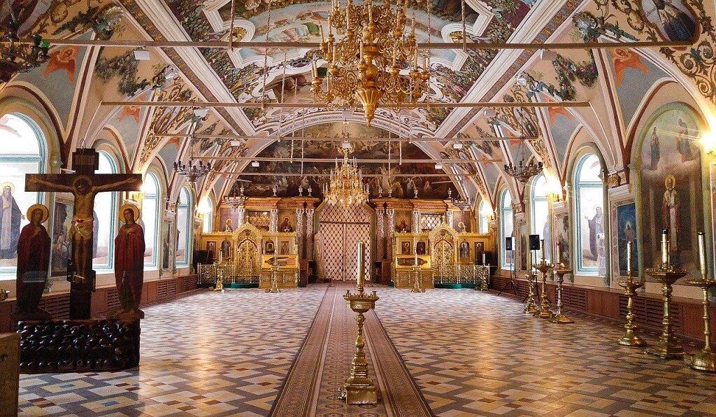 Sergiev-Posad, interno della Cattedrale di San Sergio