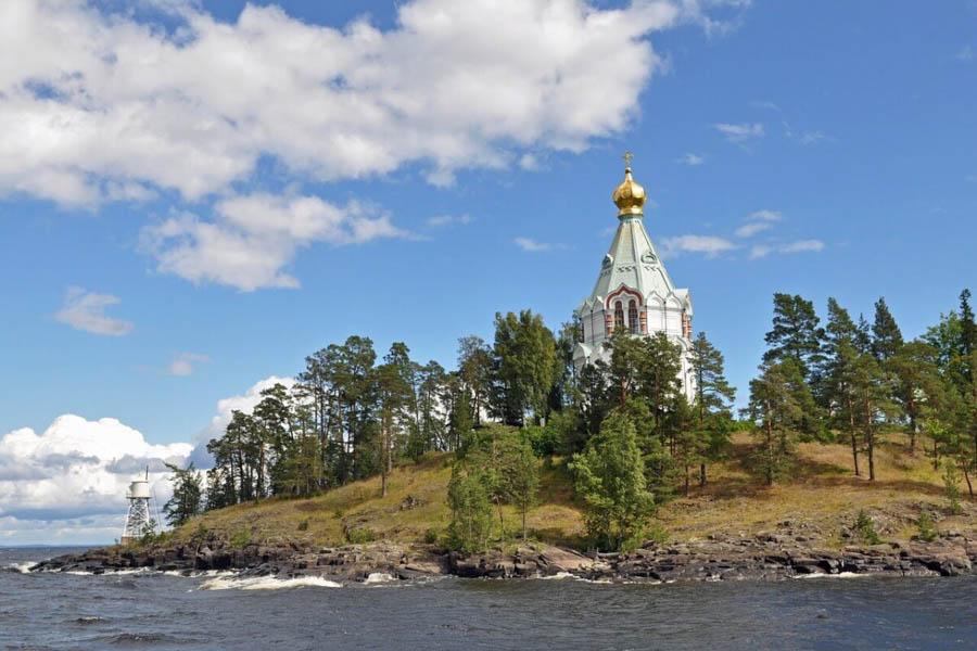 Carelia: il monastero di Valaam, sull'omonima isola del lago Ladoga