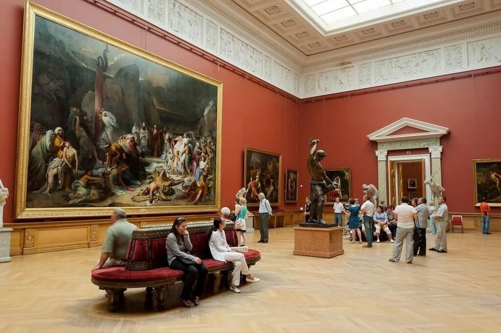 Opere d'arte nel Museo di Stato russo