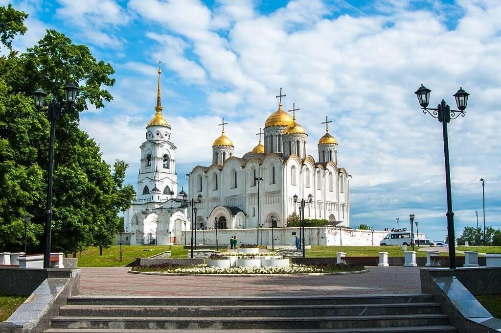 Vladimir, Anello d'Oro: la Cattedrale della Dormizione